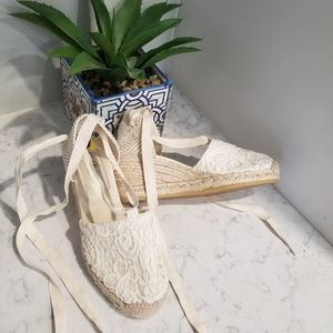 MADE IN SPAIN LACE SPADRILLES